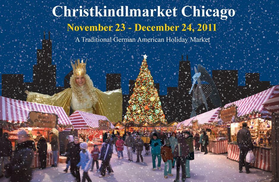 Chicago German Christmas Market.Event Holiday Christkindlmarket Chicago Cozy Sanctuary